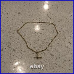 9ct 375 Hallmark Yellow Gold Belcher Chain And Fob