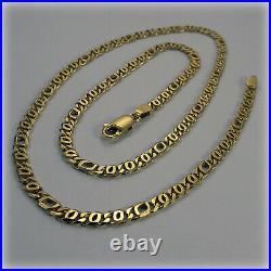9ct Gold 18 Flat Link Necklet