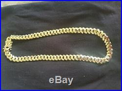 9ct Gold Cuban Chain Necklace 26 273g brand new solid gold