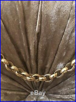 9ct Gold Hallmarked Chunky Heavy Belcher Chain Necklace