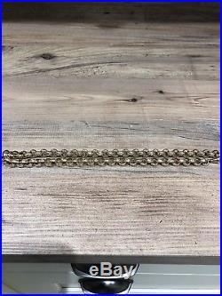9ct Gold Heavy Belcher Chain 68g