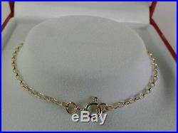 9ct Gold Ladies Solid Diamond Cut Mini Belcher Chain. 26 Inch. 2.7 Grammes