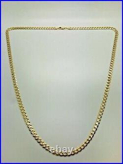 9ct Yellow Solid Gold Curb Chain 5.3mm 24 CHEAPEST ON EBAY