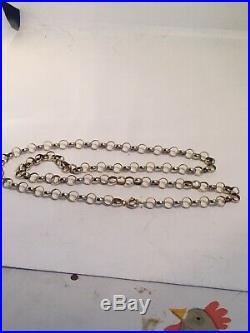 9ct gold belcher chain/Necklace