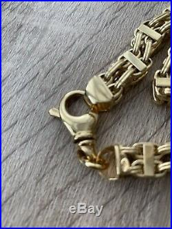 Cage Chain Chunky 9ct Brand New 32 Hallmarked 375