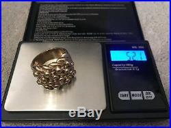 HUGE JOB LOT of 9ct GOLD RINGS CHAIN BRACELET All Hallmarked 106.3 Grams V. HEAVY