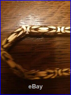Heavy 9ct Gold Chain over 98g