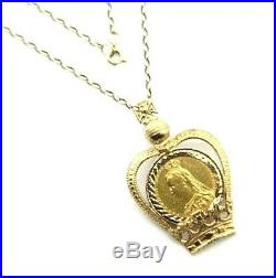 ce8c32acb5611 Ladies/womens 22ct gold stunning sovereign pendant with a 9ct gold ...