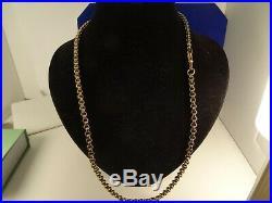 Mens Ladies Heavy 9ct Gold DOUBLE Chain Necklace 24 30g Hm 5mm RRP £2000 56c