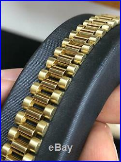"""375 9CT YELLOW SOLID GOLD 20/"""" ENGLISH ROPE PRINCE OF WALES CHAIN TWIST NECKLACE"""