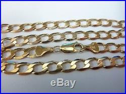 Stunning 9ct Gold 18 Curb Chain
