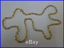 Stunning 9ct Gold 22 Belcher Chain Fully hallmarked