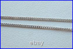 Today Only 1/2ct Diamond Solitaire 9ct White Gold Pendant & Chain £300 Freepost